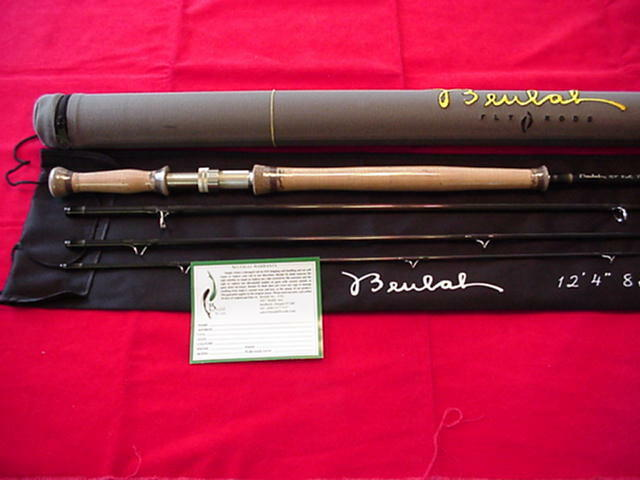 Beulah Platinum Spey Fly Rod 11ft 7in Line GREAT NEW