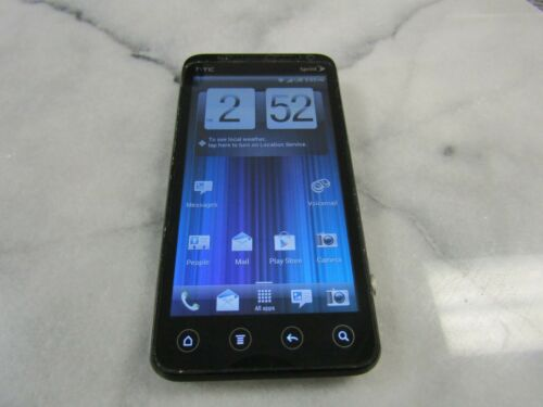 1 of 1 - HTC EVO 3D - 1GB - Black (Sprint) CLEAN ESN WORKS PLEASE READ 9008