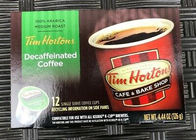 Tim Horton's Decaffeinated Coffee Pods