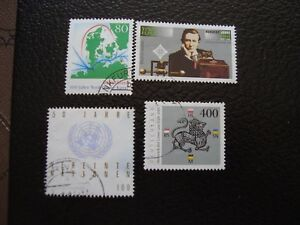 Germany-Rfa-Stamp-Yvert-and-Tellier-N-1634-A-1637-Obl-A5-Stamp-Germany