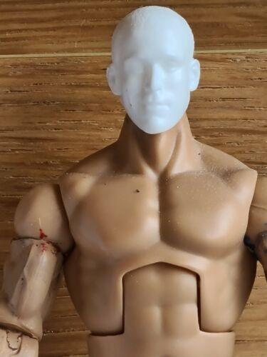 WWE Mattel custom head Cast-Mattel Jakks Eric Young Figure fourragères