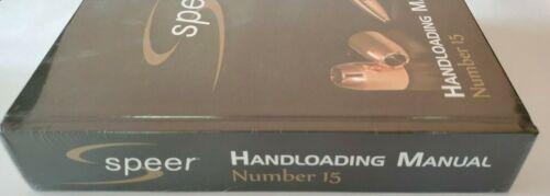 Speer Handloading Manual Number 15 Hardcover Book 9781936120703