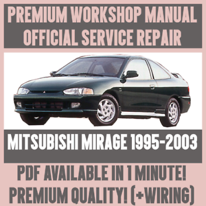 WIRING *WORKSHOP MANUAL SERVICE /& REPAIR GUIDE for MITSUBISHI MIRAGE 1995-2003