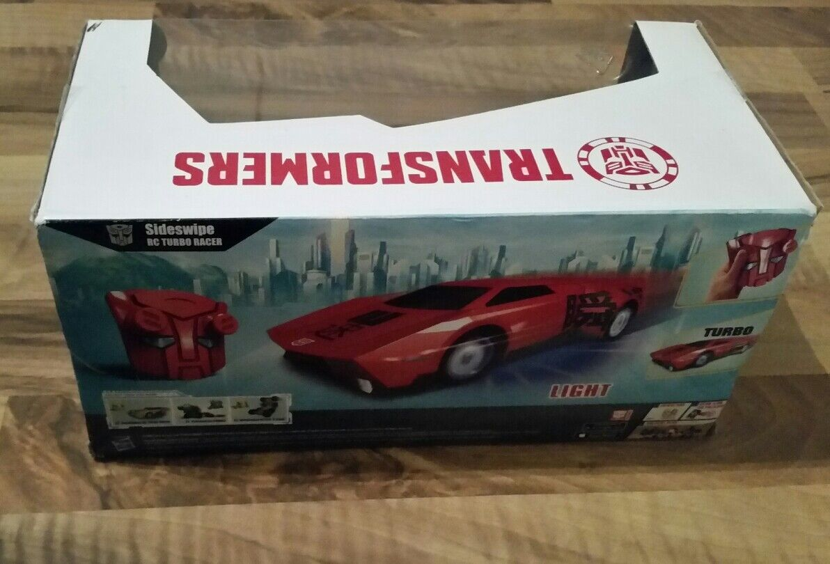 Transformer RC Sideswipe TURBO TURBO TURBO RACER-Nuovo di Zecca 2a4af1