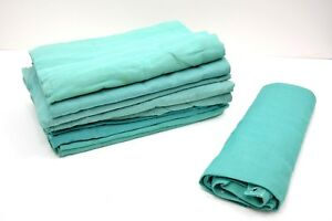 5-Pack-Ex-Army-Dust-Sheets-100-Cotton-Twill-Thick-Durable-145-x-185cm-Large