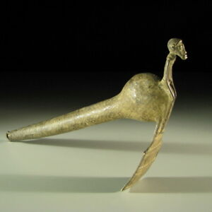 83355-Afrikanisches-Beil-Bronze-Lobi-Burkina-Faso-KUNST
