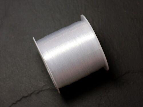 Fil Nylon Blanc Transparent 0.4mm Bobine 65 mètres 4558550086662