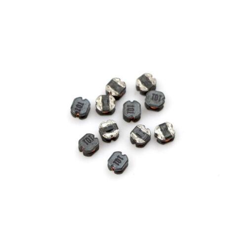 10Pcs CD32 100uH 101 SMD Power Inductors Diameter:3mm High:2mm ESJB