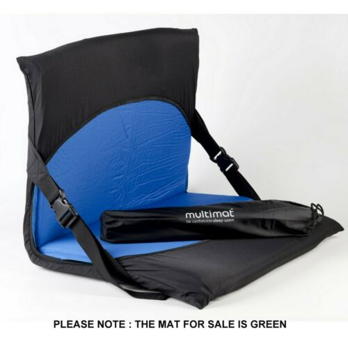 Multimat Camper 25 Compact Short Length Self Inflating Mat PLUS Chair Converter