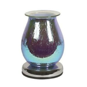 Blue-Waterdrop-Touch-Electric-Wax-Warmer-Burner-amp-pack-of-10-Scented-Melts-3156