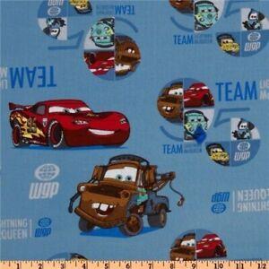 Cars La Carrera Del Equipo De Tela