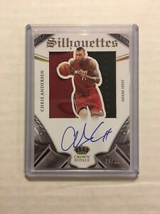 2014-15-Panini-Preferred-Chris-Andersen-Silhouettes-Patch-Auto-25-Birdman-SP