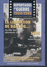 DVD REPORTAGE DE GUERRE VOL 2--LIBERATION DE DANTZIG + SIEGE + BLITZ EN POLOGNE