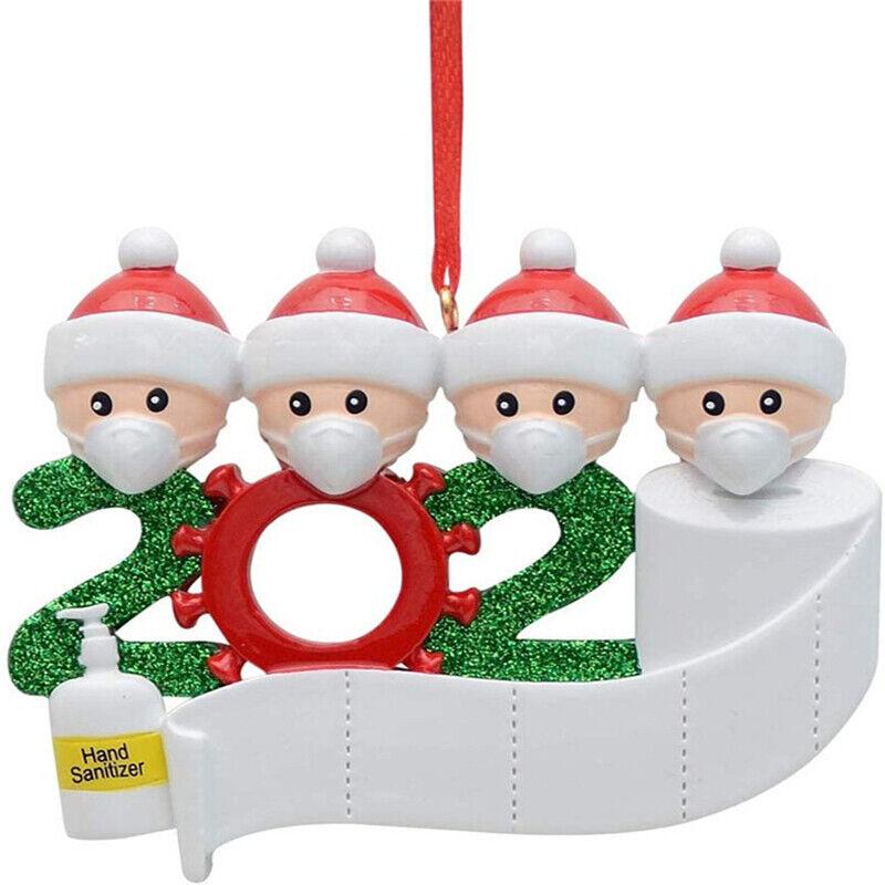 Quarantine Family 2020 Christmas Hanging Ornament Xmas Gifts Masks Toilet&Paper& | eBay