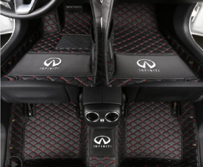 Fit For Infiniti G37 2008 2013 Leather Car Floor Mats Waterproof