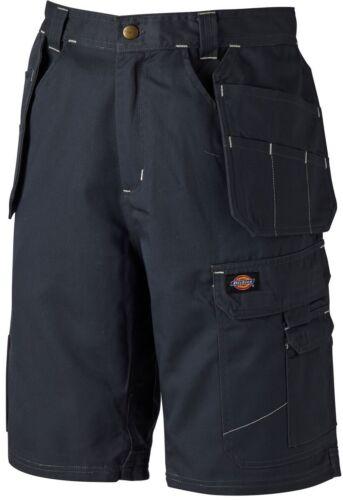 Uomo Cargo Dickies Redhawk PRO più Tasca Lavoro Pantaloncini Grigio varie dimensioni