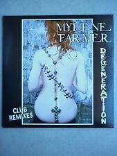 Mylene Farmer cd Promo Dégénération Club Remixes