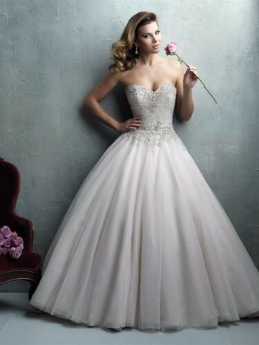 Wedding Dress Allure Couture C323 Size 10 - image 1