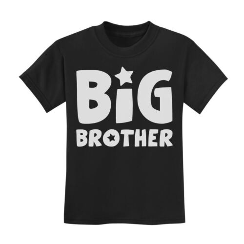 Big Brother Perfect Gift Idea For Elder Sibling Kids T-Shirt Baby Announcement