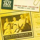 Western Swing Chronicles Vol 1 Milton Brown Audio CD