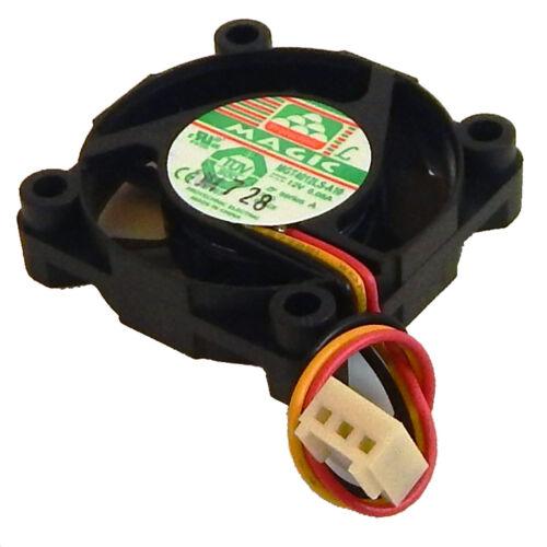Magic mgt4012ls-a10 40x10mm 12v 3wires Fan MGT4012LS-A10 40x40x10mm 12vdc 0.08A