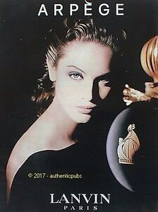 Détails Pub French Ad Sur Print Lanvin Arpege Parfum De 2016 Publicite Fatale Pour Femme 54LjAR
