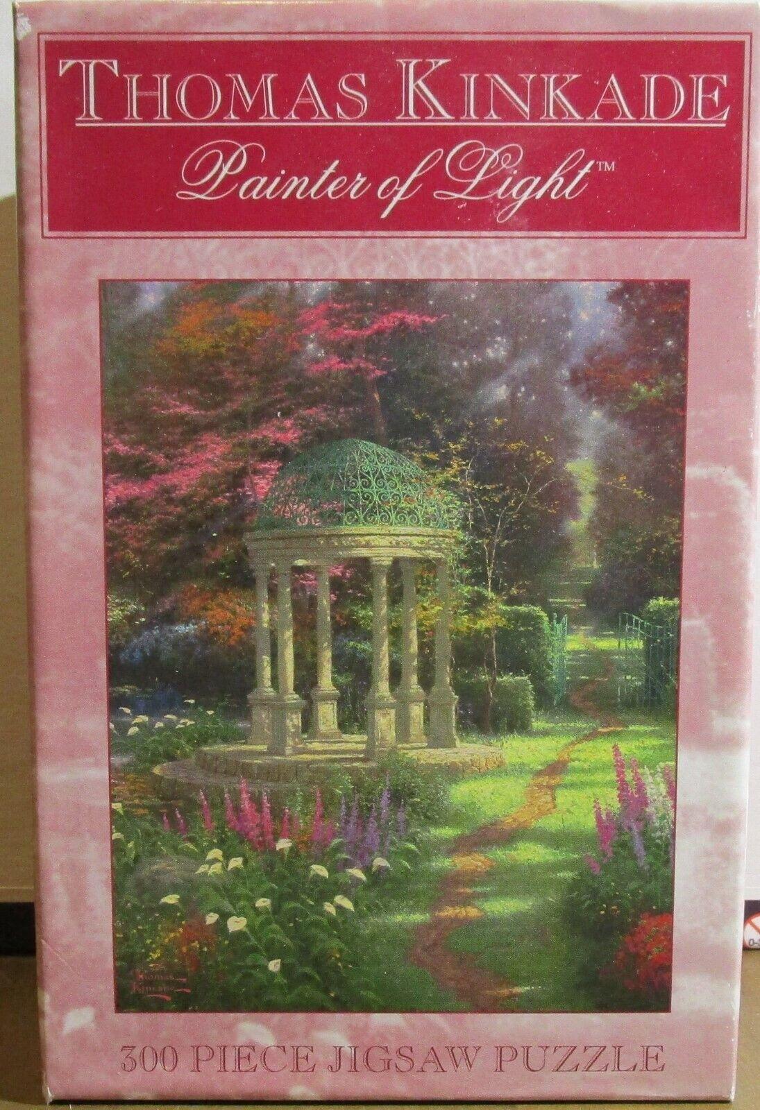 Thomas Kinkade 300pc Puzzle-The Garden of Prayer by Ceaco