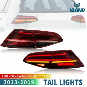 VLAND-LED-Dynamique-feux-arriere-pour-13-19-VW-Golf-7-MK7-MK7-5-VII-Avec-E-MARK