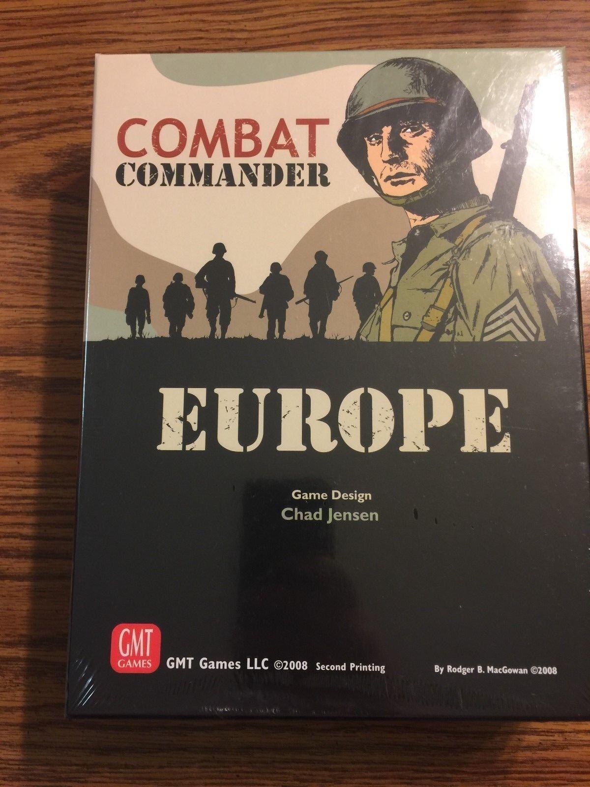 COMBAT COMPANDER EUROPA - SHRINK FÖRPACKAD - GMT spel Herregud