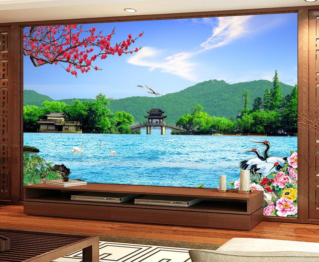 3D Blauer Himmel Natürlich 8993 Tapete Wandgemälde Tapeten Bild Familie DE Jenny | Nicht so teuer  | Lebensecht  | Schönes Design