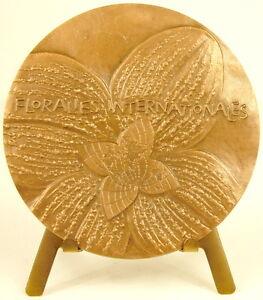 Medaglia-Floralies-Internazionale-di-Parigi-1969-Sc-Christiane-Helena-68-mm
