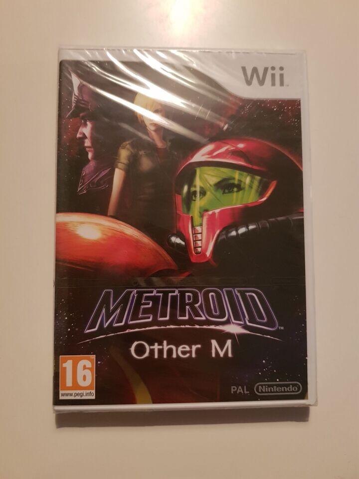 (Nyt i folie) Metroid other M, Nintendo Wii