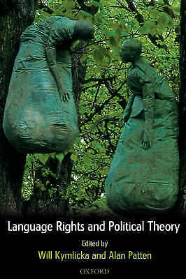 1 of 1 - Language Rights and Political Theory, , Used; Good Book