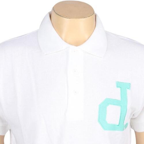 white B13C506WHT $48.00 Diamond Supply Co Un-Polo Short Sleeve Polo Shirt
