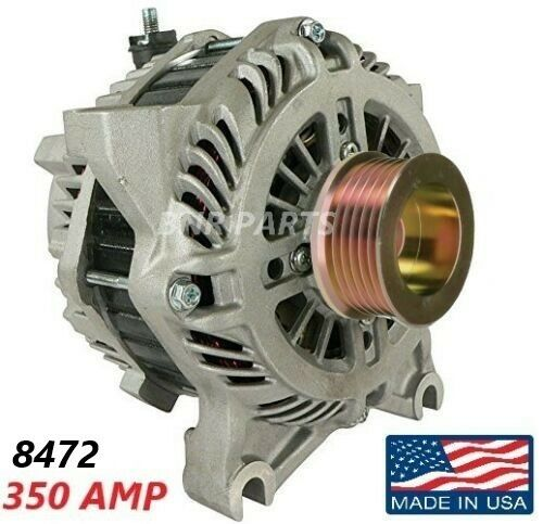 350 AMP 8472 Alternator Ford Lincoln Mercury High Output Performance HD NEW USA