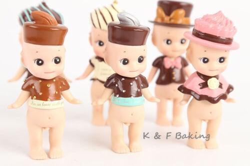 Sonny Angel Valentine/'s Day Series 6 X Figuren Set Mini Figuren Kuchendekoration