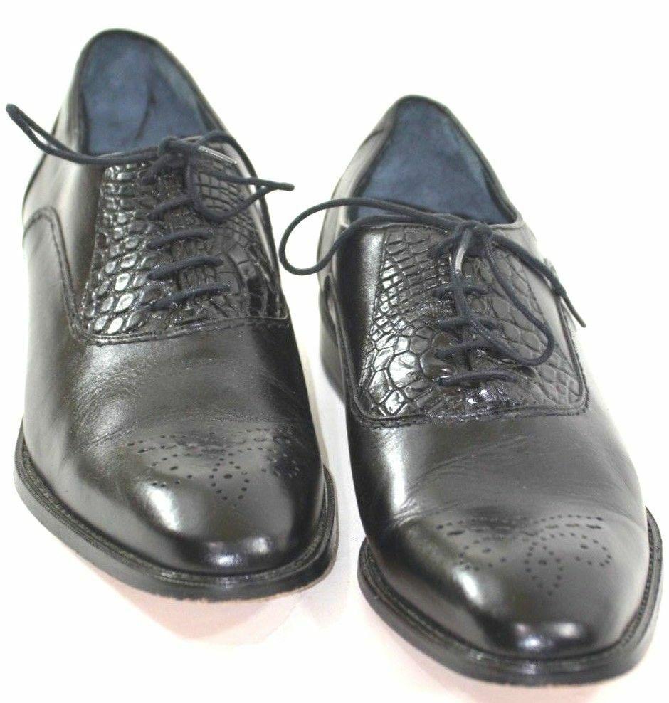 0591f843d6b Zapatos De Vestir Zapatos de genuino para hombres talla 10.5 Negro  cocodrilo Belvedere nvsvre8309-zapatos nuevos