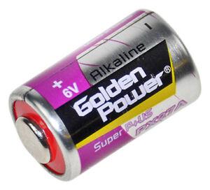 4 Stück 6V Batterie PX27A PX27 V27PX EPX27 RPX27 PX27G 4AG12 Alkali 6V Foto