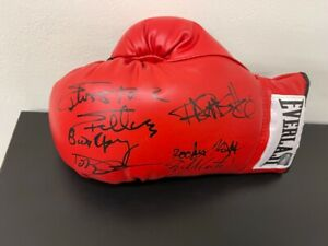 Sylvester Stallone &  ROCKY cast Autographed Everlast Boxing Glove ASI Proof
