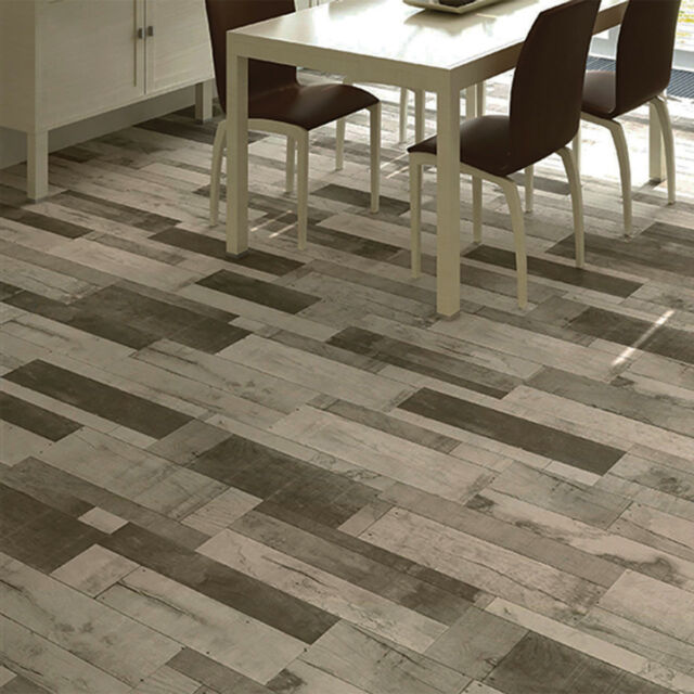 60x20cm Madera Gris Wood Effect Ceramic Floor Tiles 1 Sqm 83 Tiles