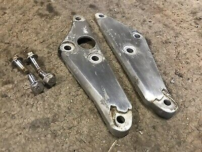 82 Suzuki GS650 Rear Footpeg Foot Peg Mount Set Left Right OEM GS660L GS  650 -86 | eBay