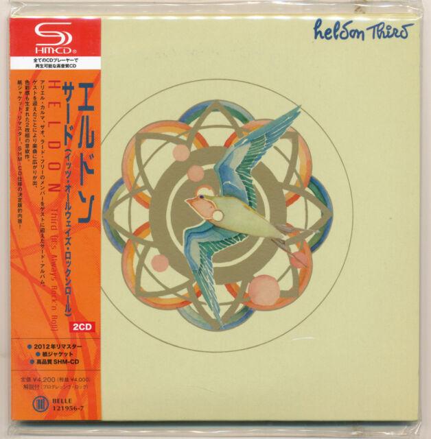 HELDON-Third (it 's Always Rock' n' roll)/Japon mini lp 2 SHM CD/New! POO!