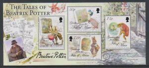Ile-de-Man-2006-Beatrix-Potter-Feuille-MNH-Sg-MS1330