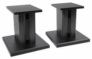 2-Technical-Pro-8-Studio-Monitor-Bookshelf-Computer-Multimedia-Speaker-Stands