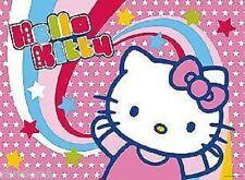 CIALDA per torta HELLO KITTY rosa ostia compleanno formato A4 cod2235