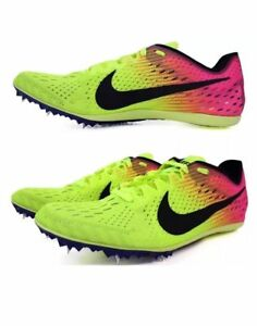 d6365d63894a Nike Zoom Matumbo 3 Men s Running Shoes Spikes Style 882014-999 MSRP ...