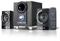 Stereo Shelf Systems Axess Msbt3907 2.1 Mini Entertainment System With Bluetooth