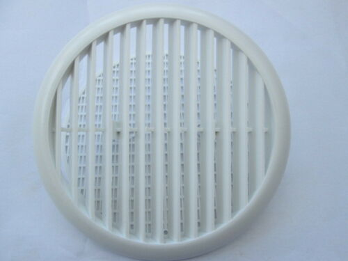 ROUND LOUVRE VENT DUCT FOR PIPE TUBE WITH FLYSCREEN AIR VENT COVER