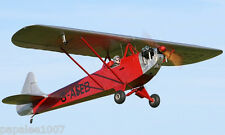 """Model Airplane Plans (RC): LUTON MINOR 34½"""" Scale for .020ci (.3cc) Engine"""