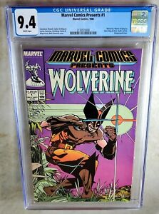Marvel-Comics-Presents-1-Wolverine-1988-CGC-9-4-NM-White-Pages-Comic-I0070